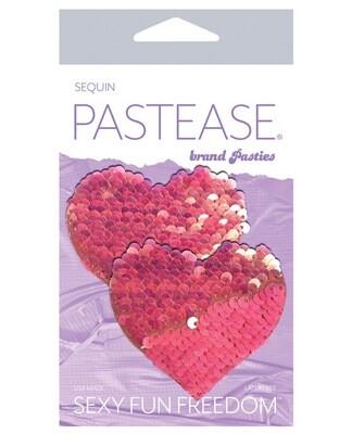 Pastease Flip Sequin Hearts Pink