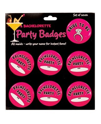 Bachelorette Party Badges