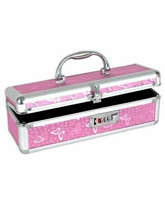 Lockable Storage Case Pink