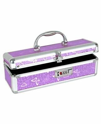 Lockable Storage Case Purple
