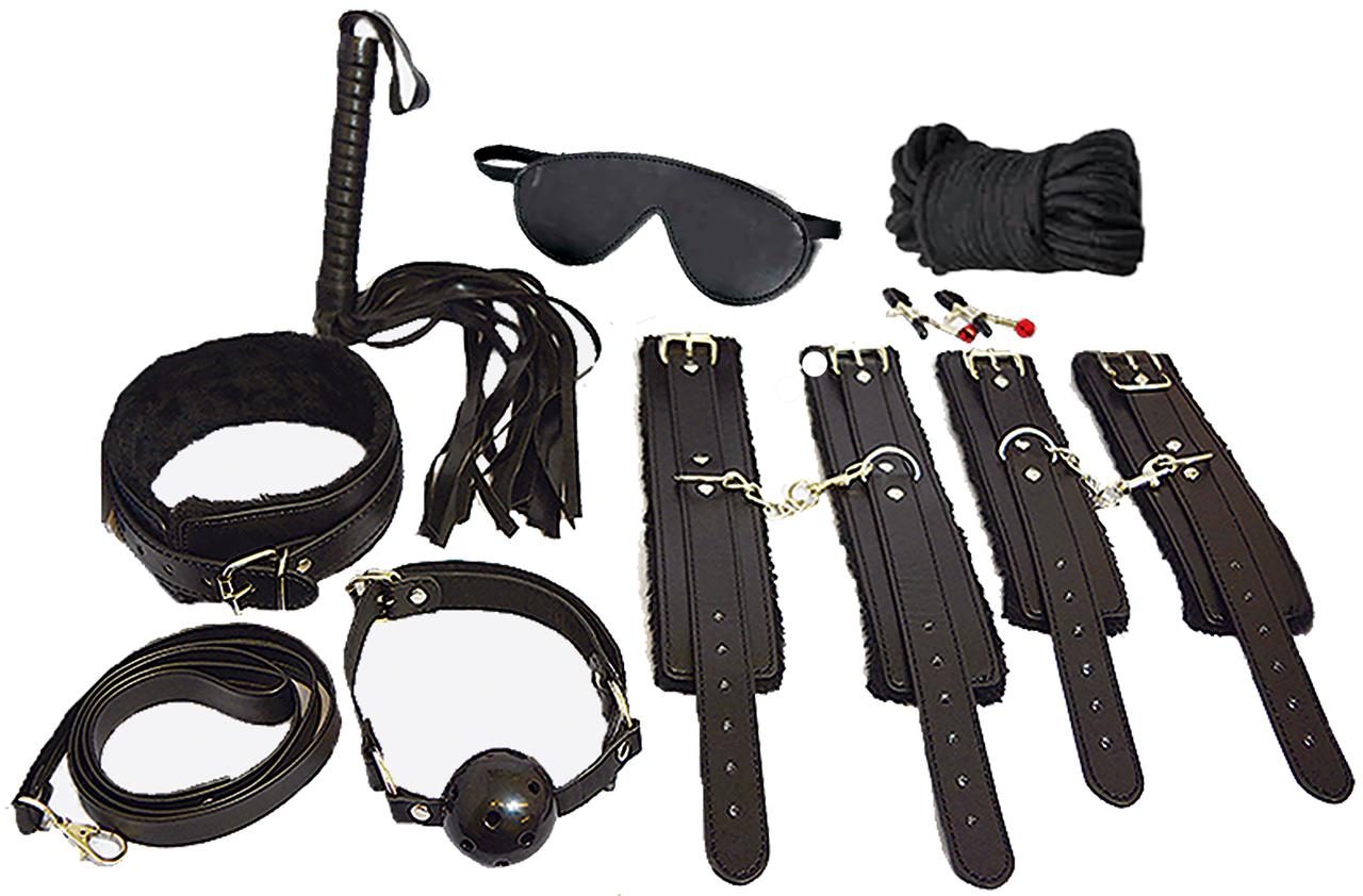 Everything Bondage Kit 12pc. Black