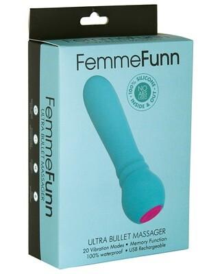 Femme Funn Ultra Bullet Massager Turquoise