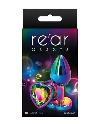 Rear Assets Multicolor Heart Small Rainbow