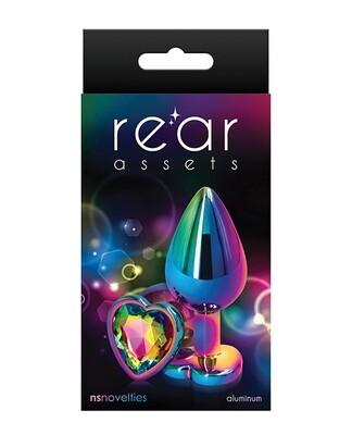 Rear Assets Multicolor Heart Medium Rainbow