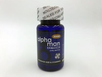 Alphaman 3000 Bottle 6ct