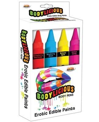 Bodylicious Edible Pens 4pack