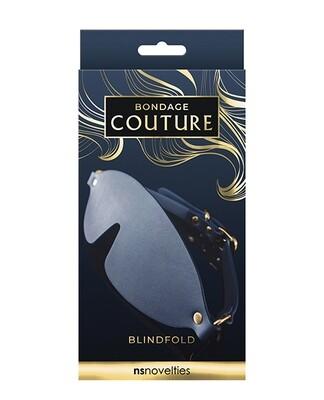 Bondage Couture Blind Fold- Blue