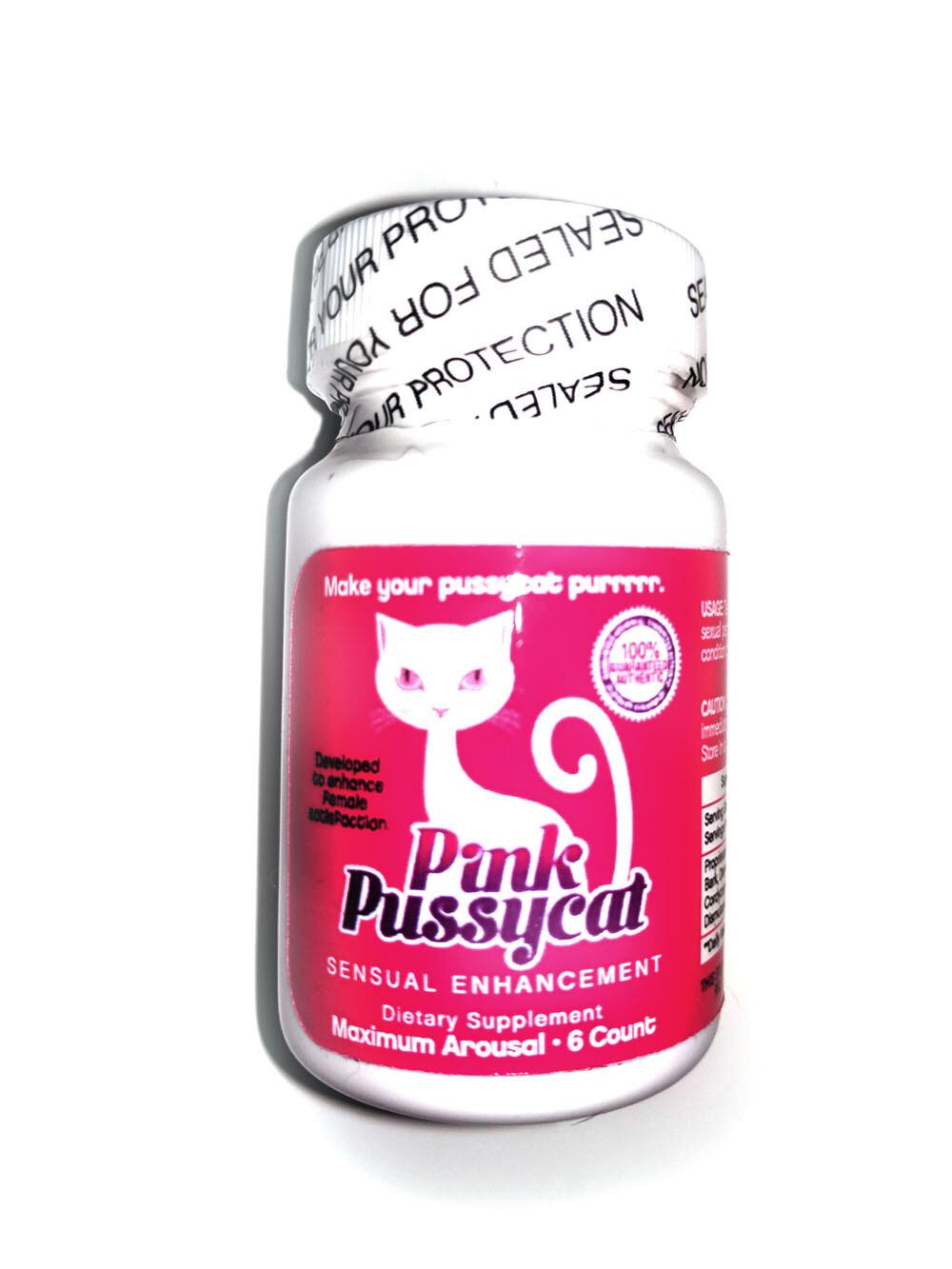 Pink Pussycat 6ct Bottle
