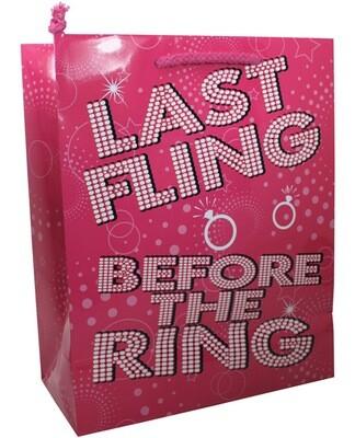 Last Fling Before The Ring Gift Bag