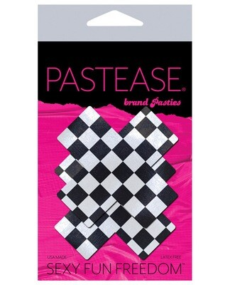 Pastease Checker X Black/White