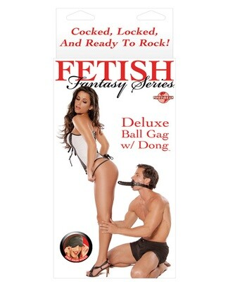 Fetish Fantasy Deluxe Ball Gag w/Dong