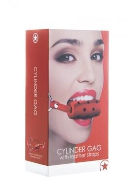 Cylinder Gag Red