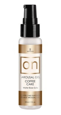 On Arousal Gel Coffee Cake 1oz.