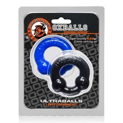 Oxballs Ultraballs Cockring Black & Blue