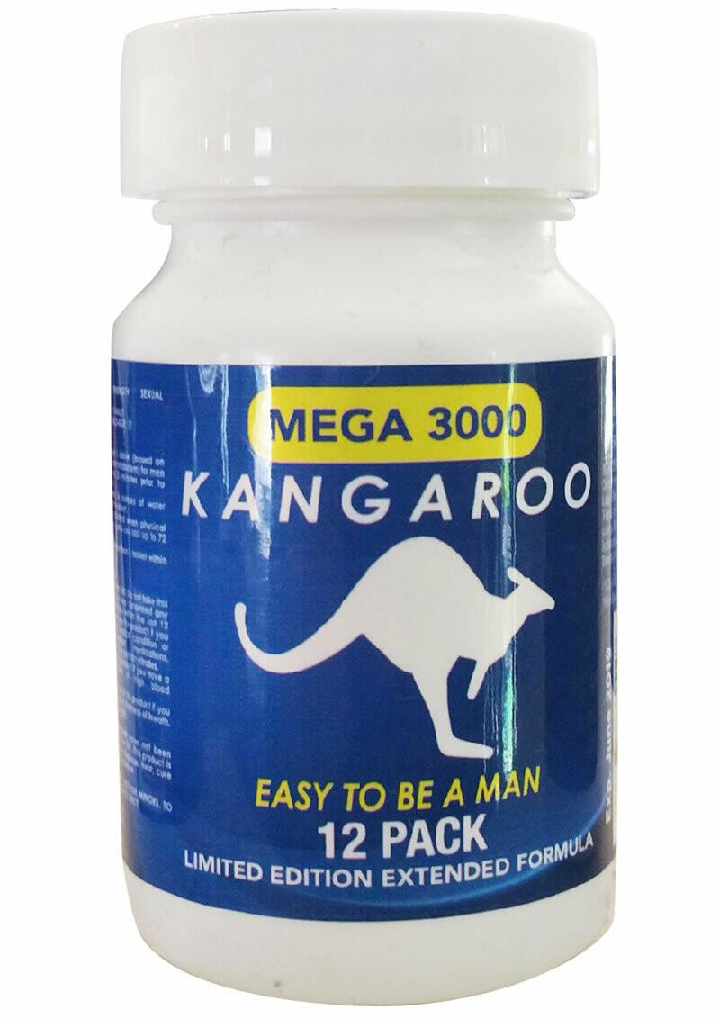 Kangaroo Blue 12ct Bottle