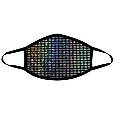 Disco Robot Face Mask