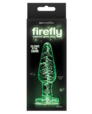 Firefly Glass Tapered Plug Medium