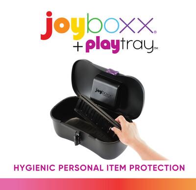 Joyboxx Toy Storage Black & Red