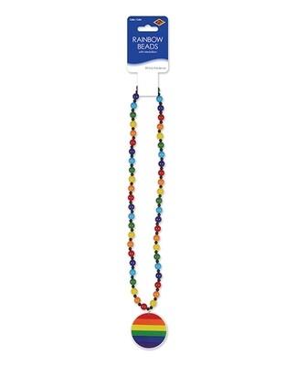 Pride Beads w/Medallion