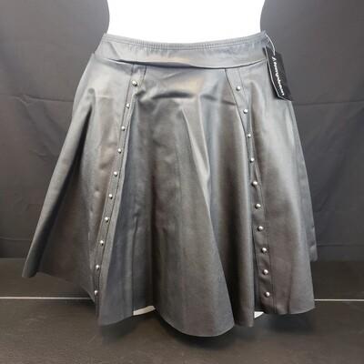 JP Leather Stud Skirt