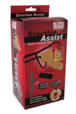 Size Matters Hollow Vibe Strap-on