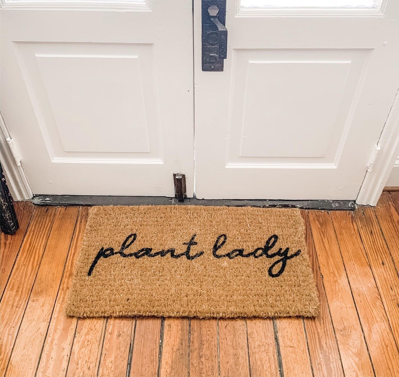 Plant Lady Doormat