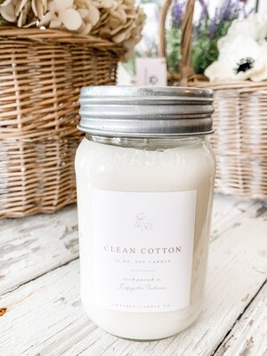 Antique Candle Co-Clean Cotton Scent