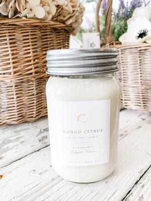 Antique Candle Co-Mango Citrus Scent