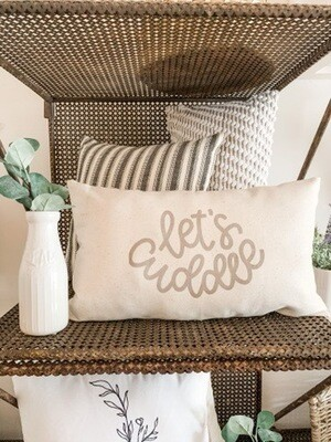Let's Cuddle Pillow