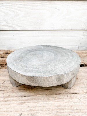 Grey Wood Riser