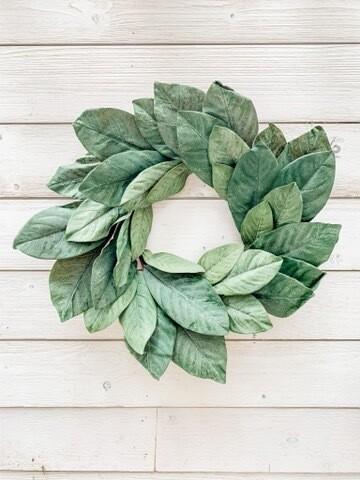 """16"""" Magnolia Wreath"""