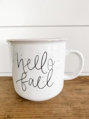 Hello Fall Campfire Mug