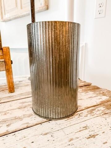 Corrugated Vase