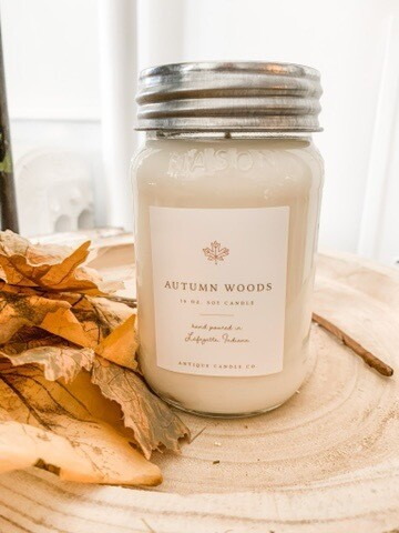 Antique Candle Co Autumn Woods