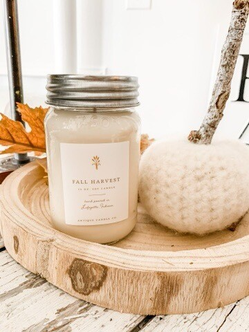Antique Candle Co Fall Harvest