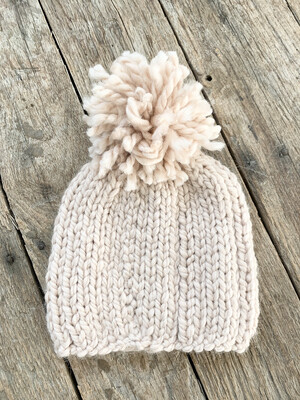 Knit Hat Blush