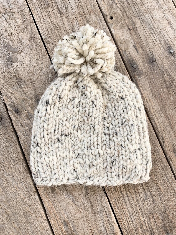 Knit Hat Oatmeal