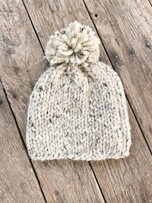 Knit Hat Oatmeal