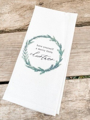 Have Yourself A Merry Tea Towel