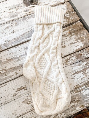 Cableknit Stocking