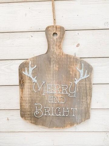Merry & bright Layering Board