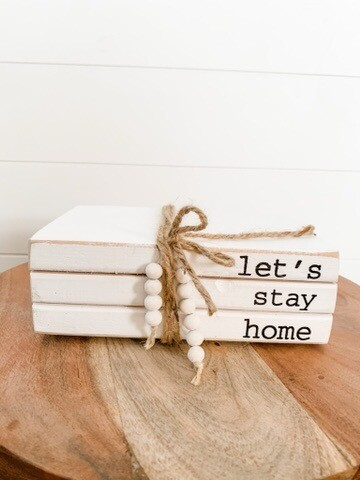 Let's Stay Home Book Bundle