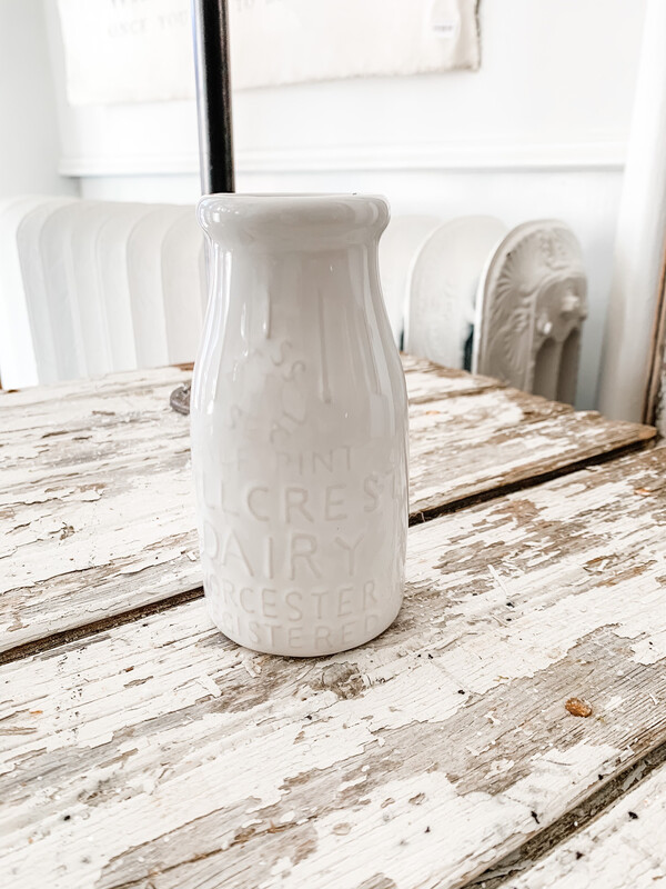 Milk Bottle Vase S