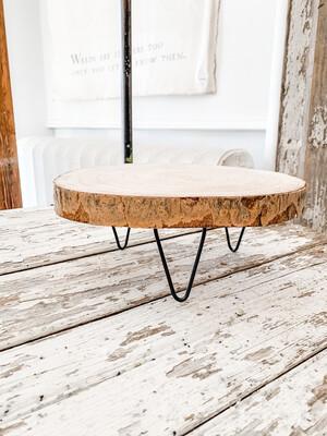 Wood Slice Riser