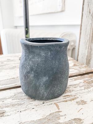 Matte Black Vase