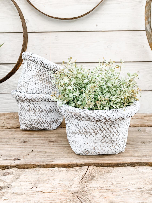 Basket planter M