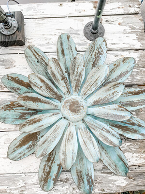 Metal Flower L