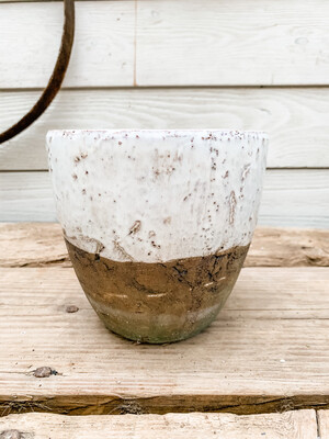 Two toned planter L