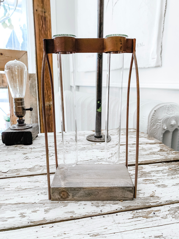 2 Test Tube Vase