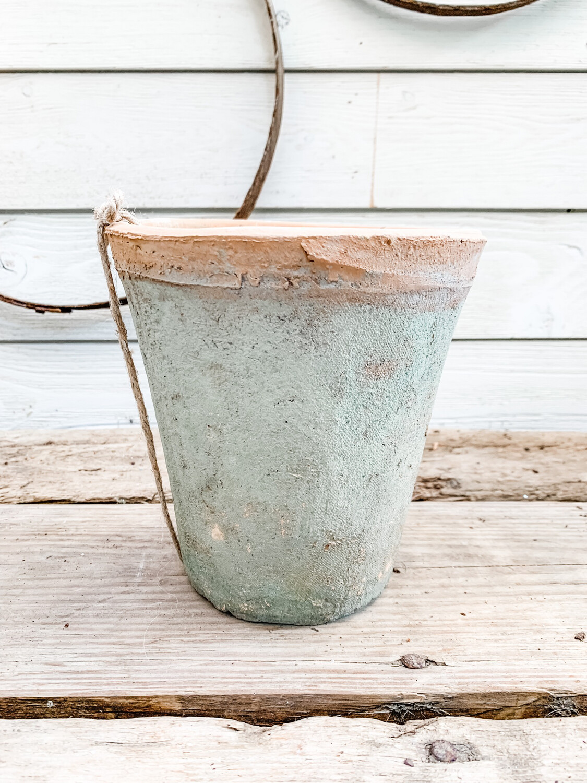 Terracotta Rose Pot